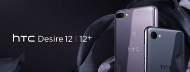 HTC Desire 12 y Desire 12 Plus: dos gamas medias con pantallas 18:9 que aterrizarán en Europa