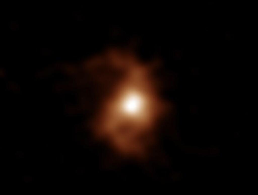 Capturan la galaxia en espiral más antigua y distante que conocemos