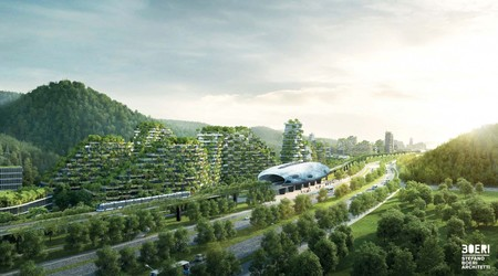 Stefano Boeri Architetti Liuzhou Forest City View