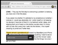 Markticle: marca tu progreso de lectura y toma notas encima de cualquier web