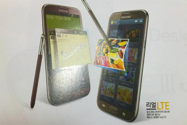 Galaxy Note II red, brown