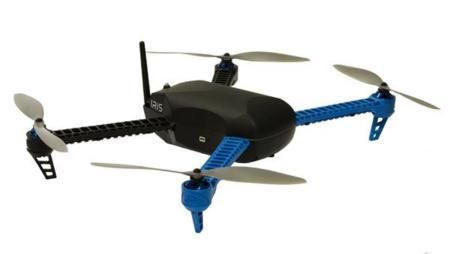3D Robotics Iris, quad-copter autónomo con piloto automático y rutas programables
