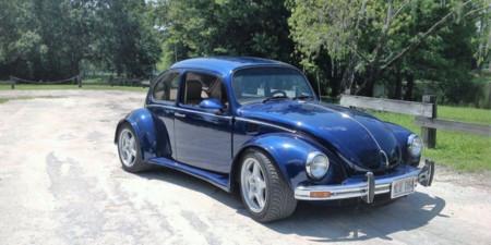 ¿Te gusta el Volkswagen Escarabajo y el Corvette? Pues este es el resultado si cruzas los dos