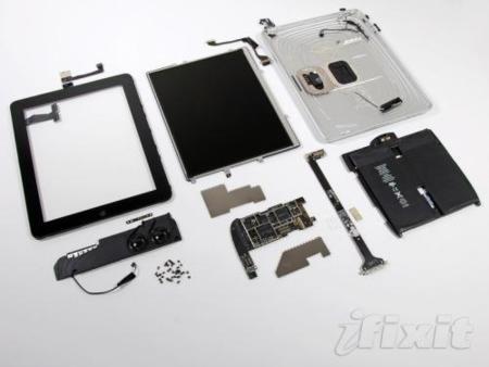 iFixit desmonta el iPad pieza a pieza