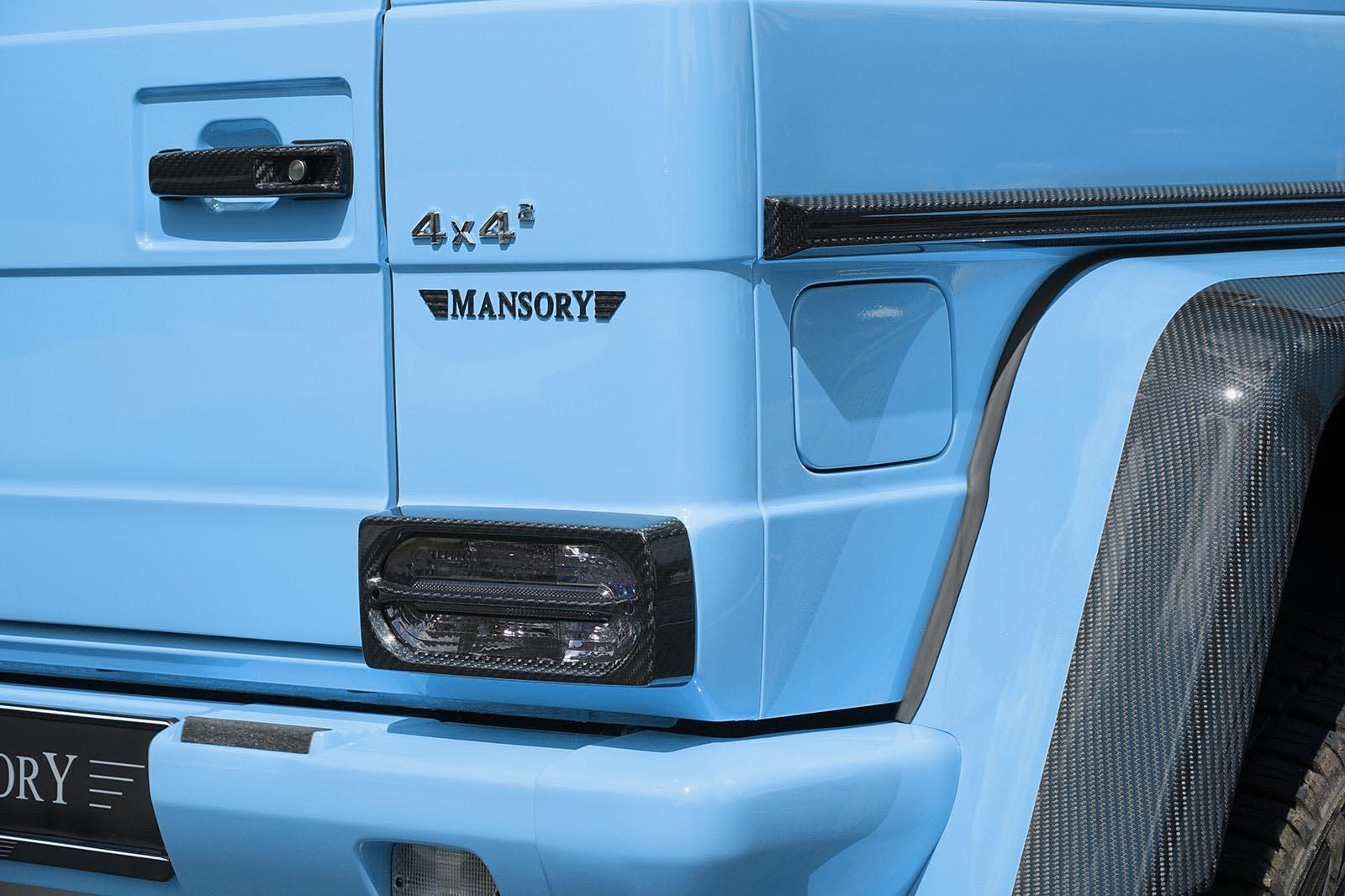 Foto de Mansory G500 4x4² (3/6)