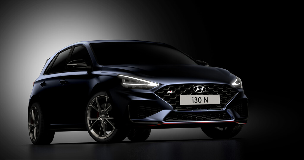 Hyundai i30 N 2021 ya nos dejó ver algunos de sus nuevos atributos