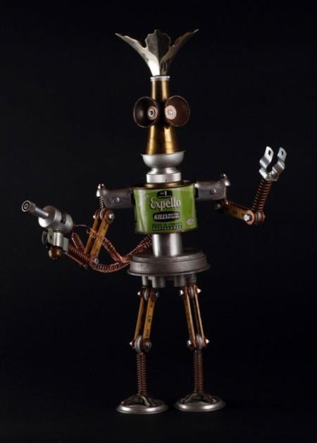 Adopta a uno de los robots de Brian Marshall, piezas únicas a tu alcance