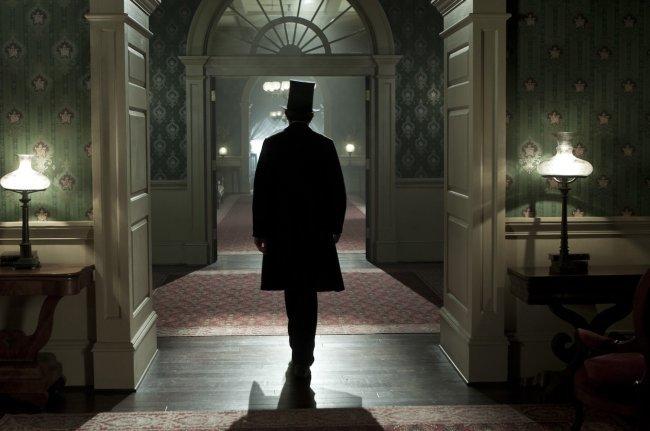 Una escena de Lincoln, de Steven Spielberg