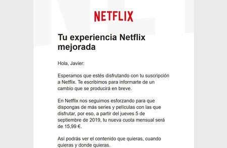 Subida Netflix Javi