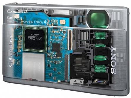 El sensor CMOS Exmor R de Sony: características