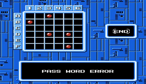 Mega Man Password