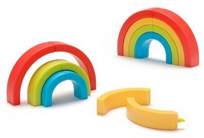 Rotuladores y arcoíris todo en uno