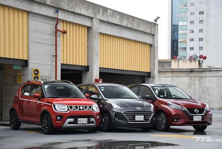 Nissan March Vs Hyundai Grand I10 Vs Suzuki Ignis Comparativa Opiniones Mexico 2
