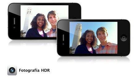 El HDR llega al iPhone 4, Apple da mayor relevancia a la cámara de su Smartphone
