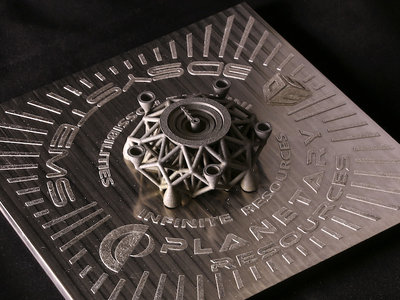 El primer objeto impreso en 3D hecho de material extraterrestre