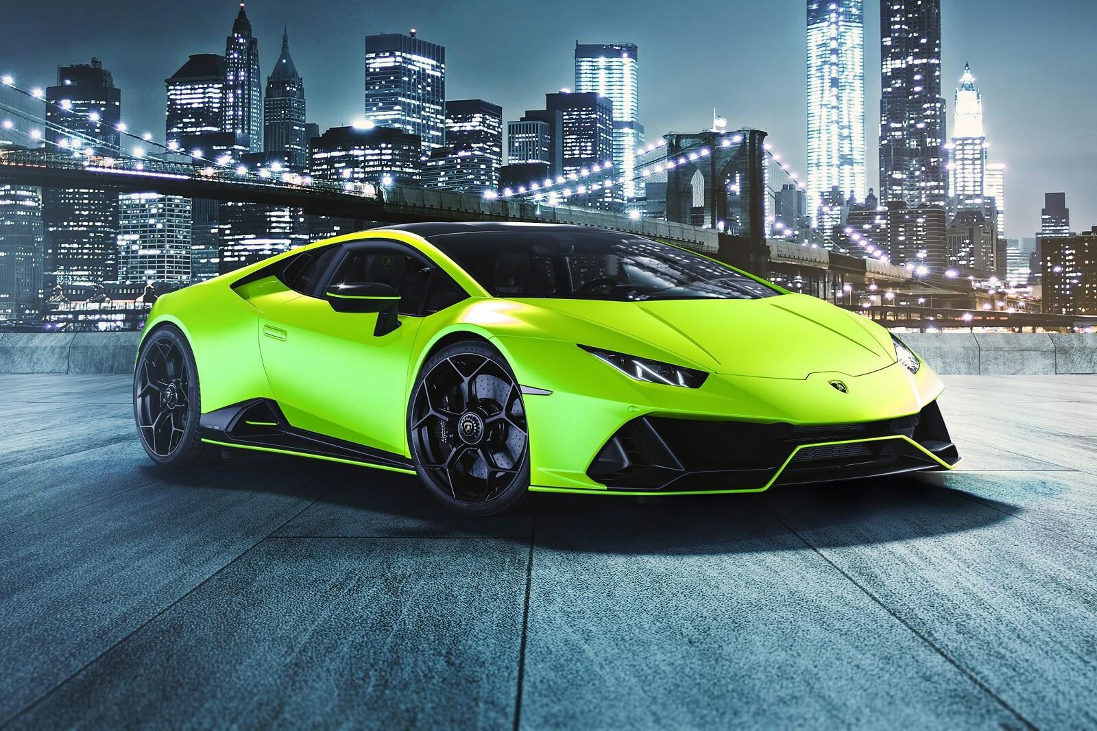 Foto de Lamborghini Huracán EVO Fluo Capsule (1/26)