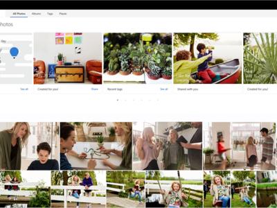 Microsoft se inspira en Google Photos para la última actualización de OneDrive