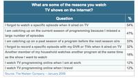¿Por qué la televisión continúa en internet?
