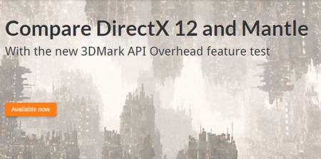 3DMark ya nos permite comparar rendimiento entre APIs: DirectX 12 y Mantle