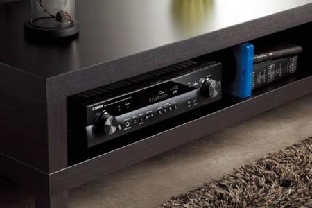 El nuevo receptor A/V de Yamaha te cabrá en cualquier rincón del salón