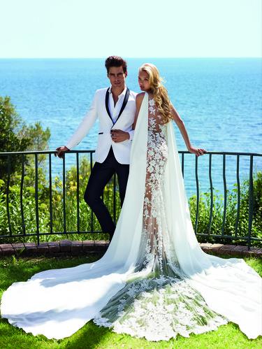 Romee Strijd y Jon Kortajarena listos para casarse con Pronovias