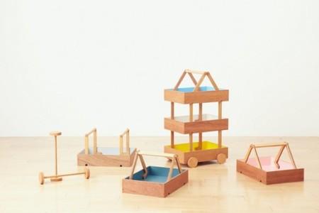 Colección de Torafu para organizar el almacenaje en la habitación de los niños