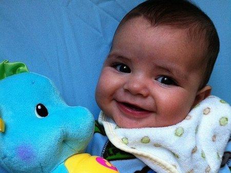 La foto de tu bebé: la sonrisa de Santi