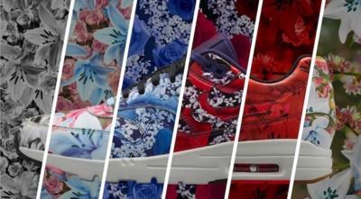Para aquellos pies que no son alérgicos a las flores esta Primavera van a pedir las nuevas Nike Air Max 1 Ultra