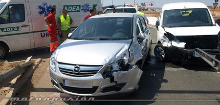 Siniestro vial - seguros para coches