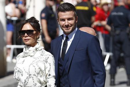 Victoria Beckham elige para la boda de Sergio Ramos y Pilar Rubio un vestido que ya lució Meghan Markle