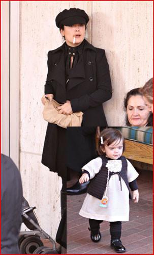 Estilo madre e hija: Salma y Valentina