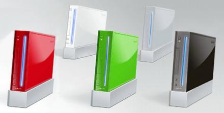 Posible Wii en colores y con reducción de precios