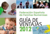 Guía de ventajas para familias numerosas 2012