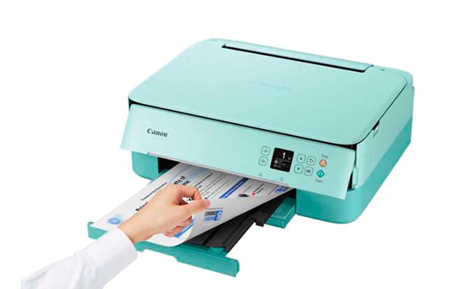Impresora Multifunción tinta Canon PIXMA TS5353 Turquesa