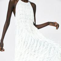 Este es el vestido (o vestidazo) de Zara que Marta Ortega llevó para acudir al desfile de Valentino y que puede ser tuyo (con suerte)