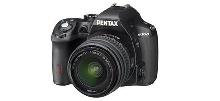 Pentax K-500, todo sobre la nueva réflex de iniciación de Pentax