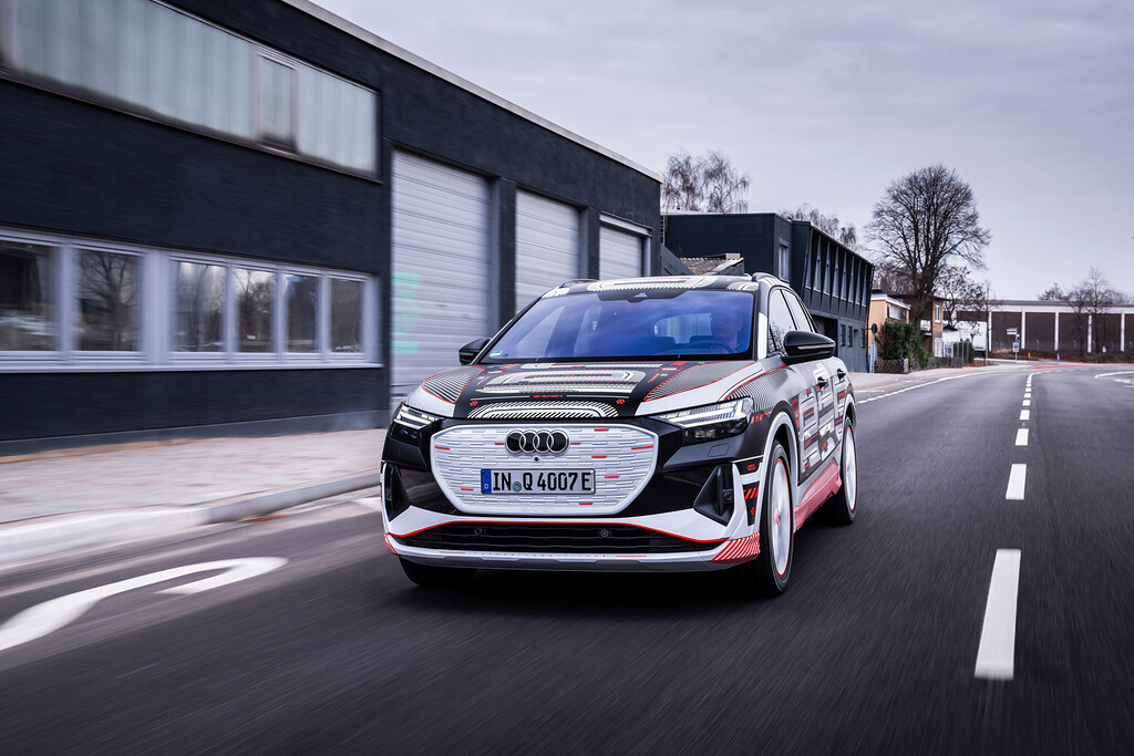 Audi Q4 e-tron 2021: la estrella de la conducción en el próximo SUV eléctrico de Audi será la realidad aumentada