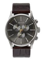 El más vendido de Nixon: The Sentry Chrono Leather (Brown Gator)