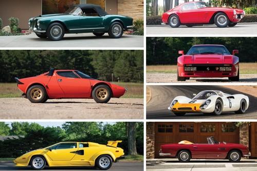 Estos siete increíbles coches han quedado huérfanos porque nadie los quiso en la última subasta