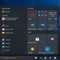 Esquinas redondeadas y un menú de inicio flotante entre otras mejoras: así lucirá Windows 10 con la actualización de otoño