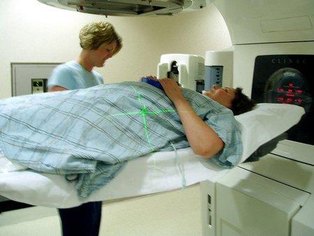 Ejemplo de uso médico de la radiación