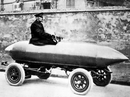 Jamais Contente Land Speed Record Car 1