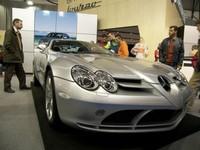 Mercedes Clase C y SLR McLaren en el Salón de Vigo