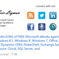 Eric Ligman regala cientos de libros electrónicos sobre Microsoft y sus productos