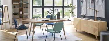 Toca renovar el comedor con esta selección de sillas por menos de 100 euros
