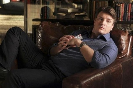 Nathan Fillion en Castle