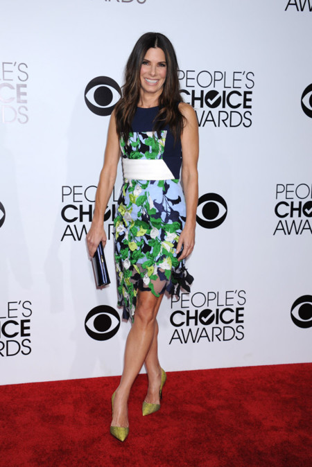 Pilotto Sandra Bullock Peoples Choice Awards 2014