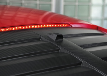 Audi R8 cámara trasera integrada
