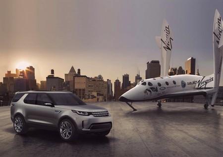 La extraña pareja: Land Rover se une a Virgin Galactic