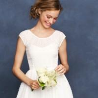 Colección de vestidos de novia J.Crew Primavera 2013, para novias sencillas y con mucho estilo